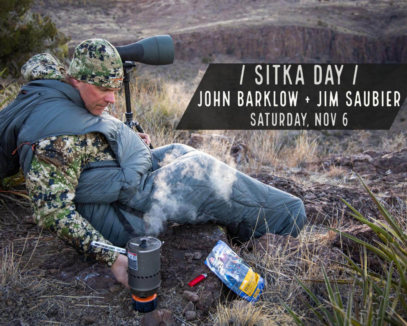 Sitka Day w/ John Barklow & Jim Saubier