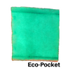 Single Eco-Pocket - The Eco-Pocket is the Green Screen in a different format for those that need a little flexible filter for installation.  They need to have 1 Innerwire that is reusable for each of your Eco-Pocket filters to install. The Eco-Pocket has 4 zones with 2 layers of Tackifier.  It is like a pillow case that is open in the center. The Anti-Microbial inhibits mold mildew and fungus from growing and recirculating.