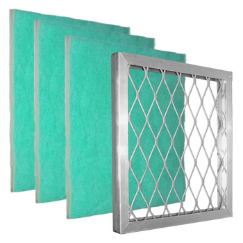 Starter Pack: Green Screen Air Filter,  is an all-in-one bundle. Which includes one Aluminum Frame and three Green Screen air filters. The air filters are pre-cut to size. The design of the Green Screen has 3 zones to trap particles by size which gives a higher dust-loading capacity, and still has optimum air flow for the HVAC system. The Anti-Microbial and Tackifier add the unique benefits of true allergy and dust help over pleated filters.