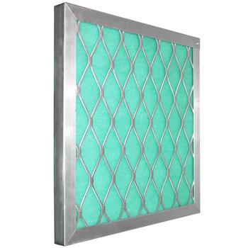 "Permanent Aluminum Frame:  Holds 2"" Green/ Blue / Orange Screens"