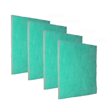 4 Pack Replacements of Green Screen Air Filter 1""