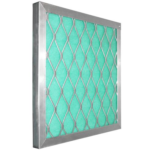 "Permanent Aluminum Frame Green/Blue/Orange 1"" Screens"