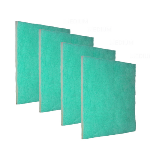4 Pack - The Green Screen 11 Air Filter is cut to size and helps with allergies, dust, air flow and much more. The design of the Green Screen 11 has three zones to trap particles by size which gives a higher loading capacity, and still have optimum air flow for the HVAC system.   MERV 11