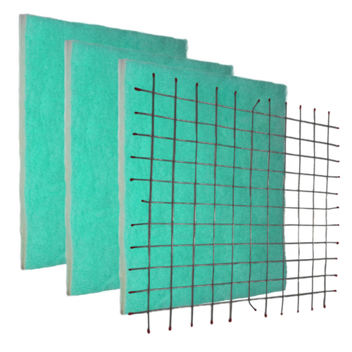 Starter Pack- DIY Permanent Grid and 3 Green Screens.  MOST POPULAR SCREENS! The Screens are pre-cut to size. The design of the Green Screen has three zones to trap particles by size which gives a higher dust-loading capacity, and still has optimum air flow for the HVAC system. The Anti-Microbial and Tackifier add the unique benefits of true allergy and dust help over pleated filters.  MERV 10