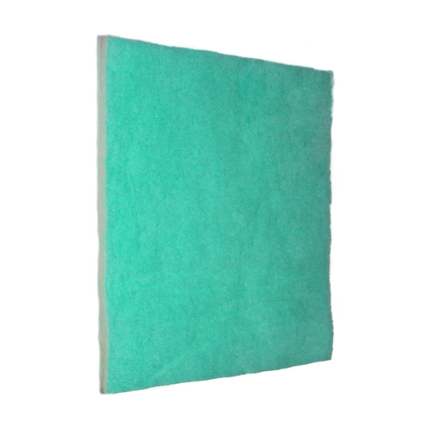 """Single Replacement of Green Screen Air Filter 1""""- MOST POPULAR SCREENS! The Screens are pre-cut to size. The design of the Green Screen has three zones to trap particles by size which gives a higher dust-loading capacity, and still has optimum air flow for the HVAC system. The Anti-Microbial and Tackifier add the unique benefits of true allergy and dust help over pleated filters.   MERV 10"""
