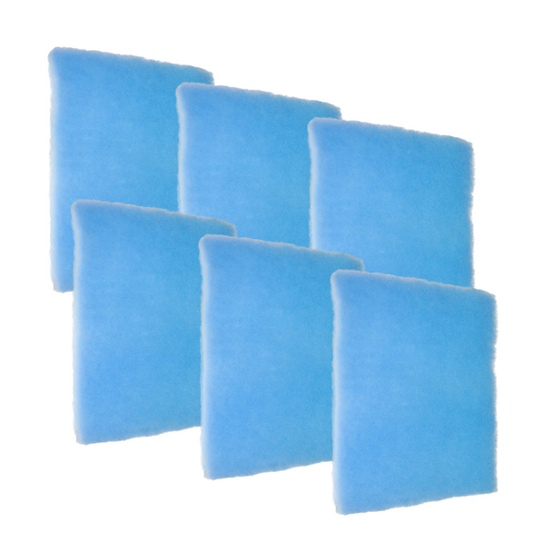 "6 Pack of Blue Screen 1"" Air Filter"