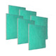 6 Pack Replacements of Green Screen Air Filter 1""