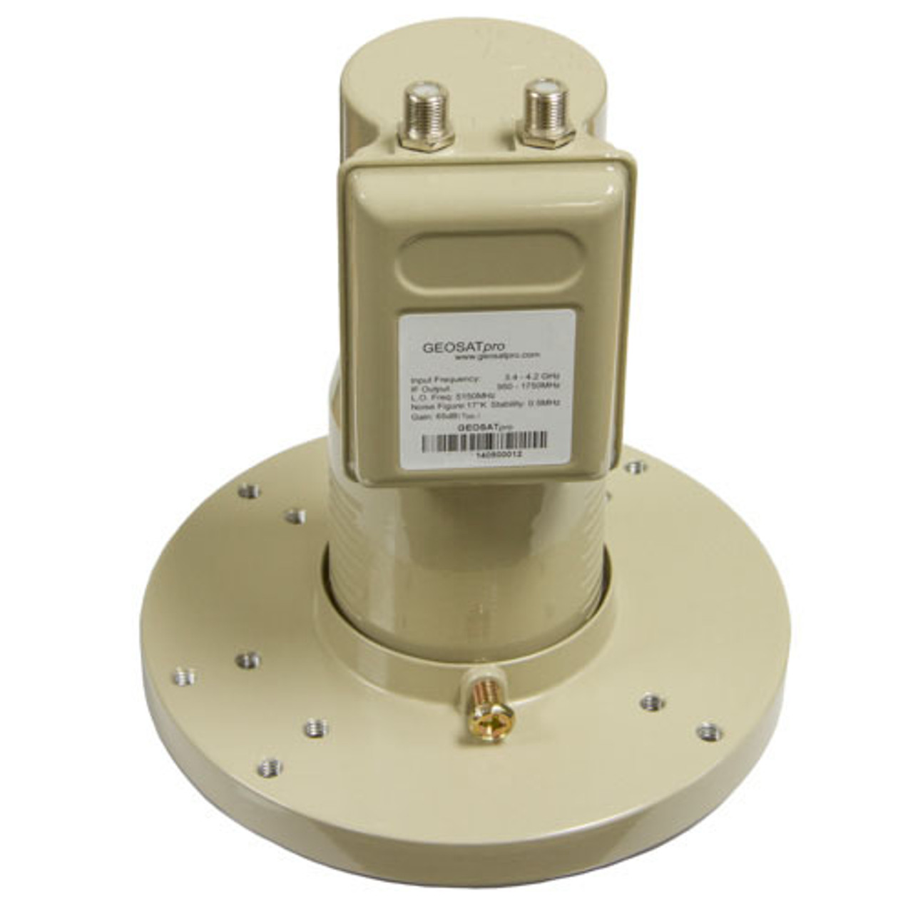 Dual Output LTE 4G 5G WiFi Radar Interference Filtering Phase Lock Loop C2-PLL C-Band LNBF