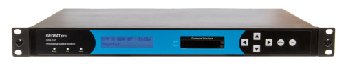 GEOSATpro DSR-160 - Commercial DVBS-2 Receiver with HDMI / Component output..  Two Pairs of balanced XLR