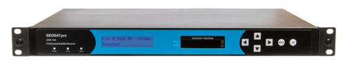 GEOSATpro DSR-160SDI - Commercial Rack Mount Decoder with HDMI + SDI video outputs and 2 pairs of balanced XLR audio