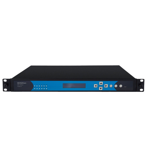 RECEIVER/HEADEND/MEDIA PLATFORM - GEOSATpro DSR180HLS RACK MOUNT IRD WITH HDMI, SDI, ASI, IP - MPEG2/H.264 2 Channel HLS Decoder Configuration