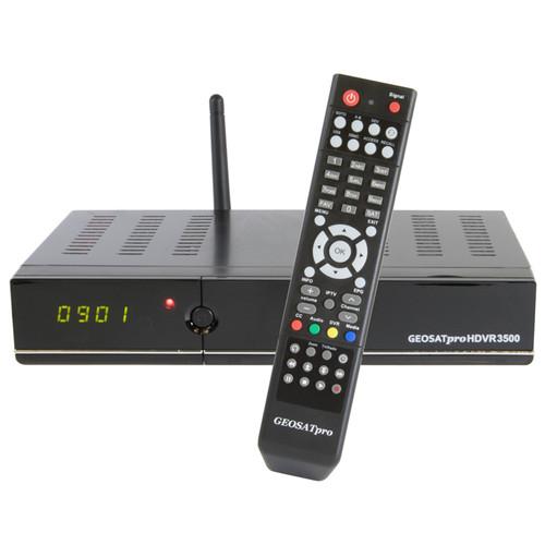 SATELLITE RECEIVER - GEOSATPRO HDVR3500 MPEG4/2 FTA/DVR WITH 16GB RECORDING MEMORY