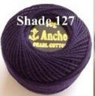 Anchor Pearl Crochet Cotton Size 8 - 10gm Ball - (127)