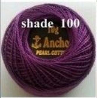 Anchor Pearl Crochet Cotton Size 8 - 10gm Ball - (100)