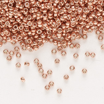 15-1072 - 15/0 - Miyuki - Opaque Galvanized Muscat - 8.2gms Vial Glass Round Seed Beads