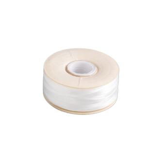 Thread, Nymo®, nylon. 2 x Bobbin Size OO - 110yds - White