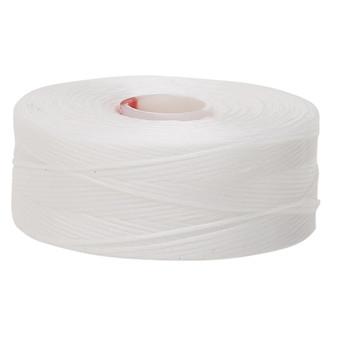 Thread, C-Lon®, nylon. 2 x Bobbin Size D - 78yds White