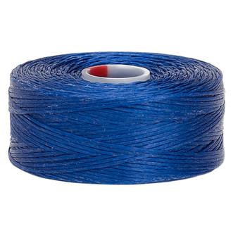 Thread, C-Lon®, nylon. 2 x Bobbin Size D - 78yds Royal Blue