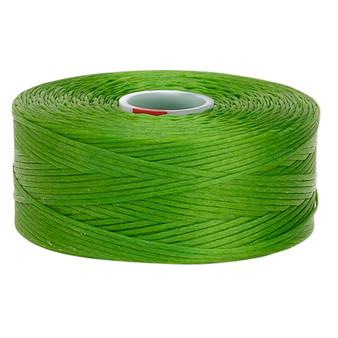 Thread, C-Lon®, nylon. 2 x Bobbin Size D - 78yds Green