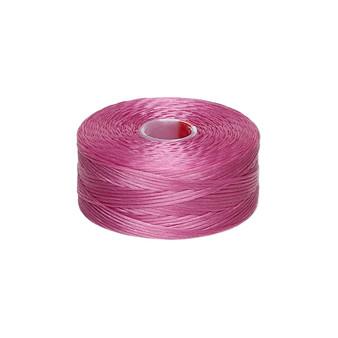 Thread, C-Lon®, nylon. 2 x Bobbin Size D - 78yds Light Orchid