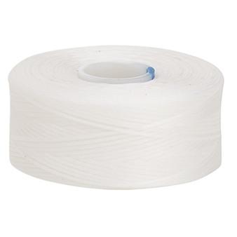 Thread, C-Lon®, nylon. 2 x Bobbin Size AA - 75yds White
