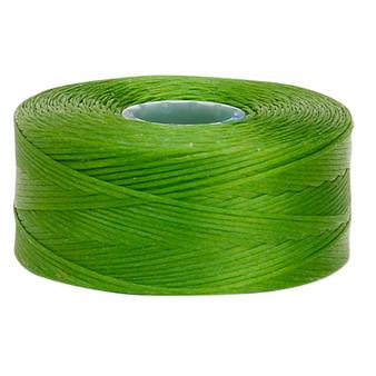Thread, C-Lon®, nylon. 2 x Bobbin Size AA - 75yds Green