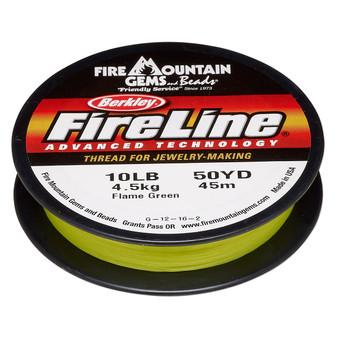 Thread, Berkley® FireLine®, 50-yards Flame Green 10lb (0.2mm)