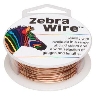 1 x reel of Zebra Wire round - 18 guage (10 yards, 9 metres) Copper