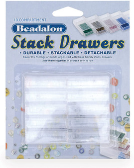 Beadalon - Stack Drawers - 10 Compartment - Stackable/Detachable