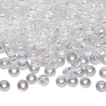 6-131R - 6/0 - Miyuki - Transparent Rainbow Crystal - 25gms - Glass Round Seed Bead