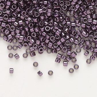 DB0455 - 11/0 - Miyuki Delica - Opaque Nickel-Finished Lt Purple - 50gms - Cylinder Seed Bead