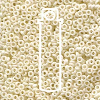 SPR2-2021 - Miyuki - Matte Opaque Cream - 2.2mm x 1mm - 7gms - Spacer Glass Bead