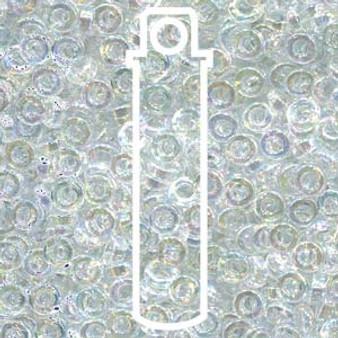 SPR2-250 - Miyuki - Clear Transparent Rainbow - 2.2mm x 1mm - 7gms - Spacer Glass Bead