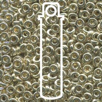 SPR2-4201 - Miyuki - Galvanized Silver - 2.2mm x 1mm - 7gms - Spacer Glass Bead