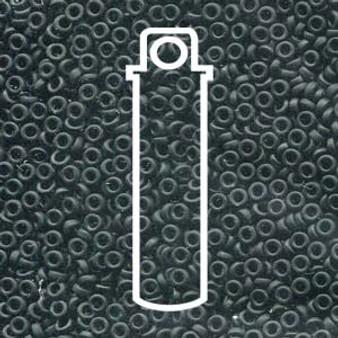SPR2-401F - Miyuki - Matte Black - 2.2mm x 1mm - 7gms - Spacer Glass Bead