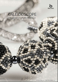 Free Download Pattern - Kaleidoscope Necklace with Charlotte Bead Balls
