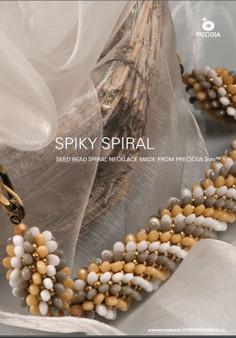 Free Download Pattern - Spiral Necklace