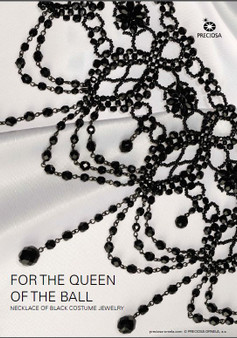 Free Download Pattern - Necklace of black