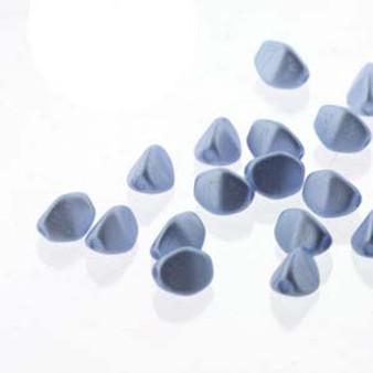 Pinch Bead 5mm Pastel Lt Sapphire - 1 Strand (50 beads) (PNC05-25014)