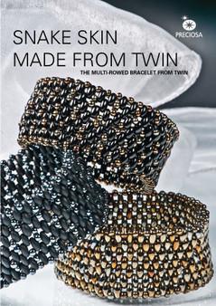 Free Download Pattern - Twin Snakeskin Bracelet