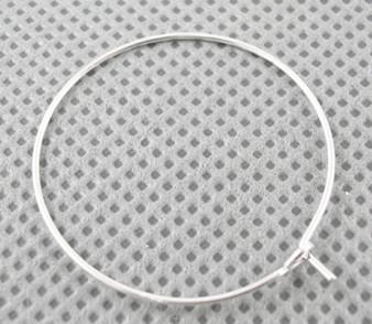 10 gram bag of Silver Wine Charm findings 20mm in diameter