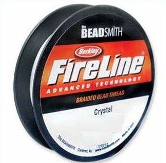 Thread, Berkley® FireLine®, 50-yards Crystal  8lb (0.18mm)