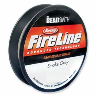 Thread, Berkley® FireLine®, 50-yards Smoke 8lb (0.18mm)
