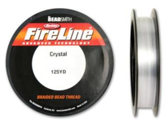 Thread, Berkley® FireLine®, 125-yards Crystal 8lb (0.18mm)