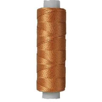 10gm Spool Pearl Crochet Cotton - Size 8 Tan