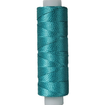 10gm Spool Pearl Crochet Cotton - Size 8 Turquoise