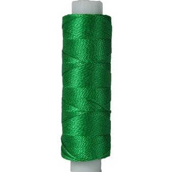 10gm Spool Pearl Crochet Cotton - Size 8 Green