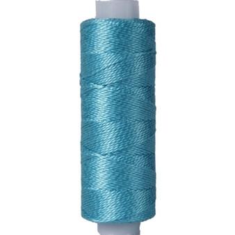 10gm Spool Pearl Crochet Cotton - Size 8 Peacock Blue