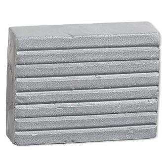 Kato Polyclay™, Sold per 2-ounce pkg - Metallic Silver