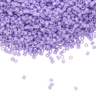 DB2138 - 11/0 - Miyuki - Duracoat Op Wisteria - 7-7.5gm Vial (approx 1400-1600 beads) Glass Delica Cylinder Seed Beads